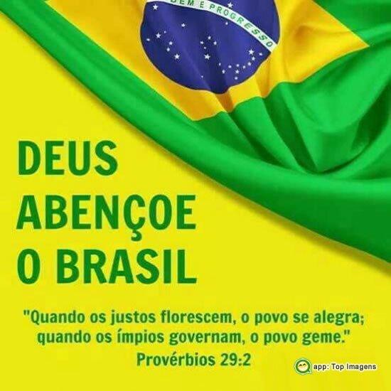 Deus abençoe o Brasil