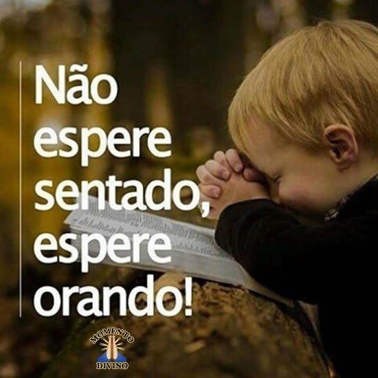 Espere orando
