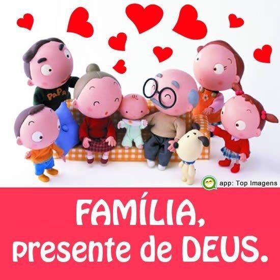Família, presente de Deus