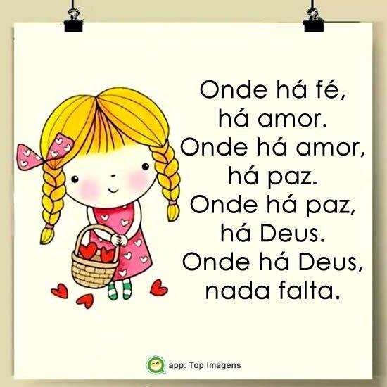 Onde há fé, há amor
