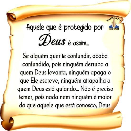 Protegido por Deus