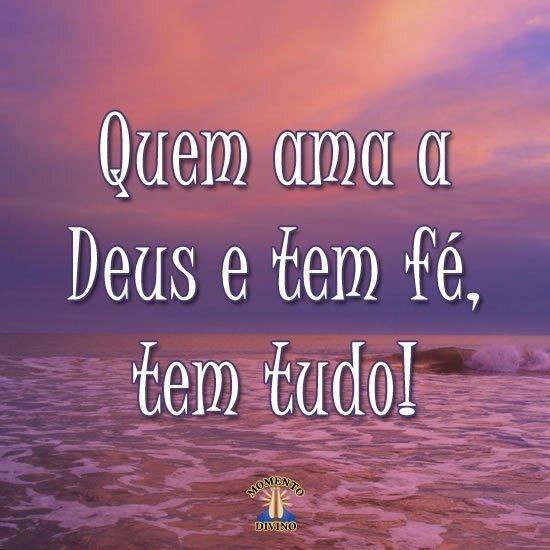 Quem ama a Deus