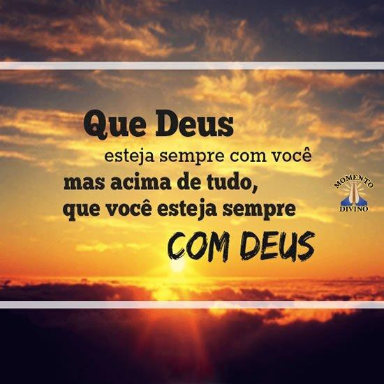 Sempre com Deus