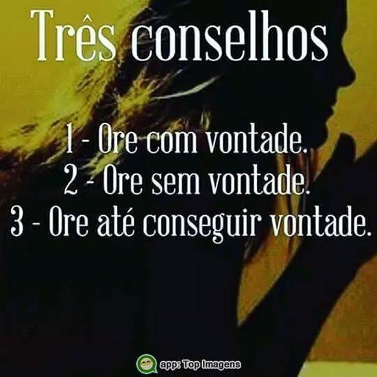 Três conselhos