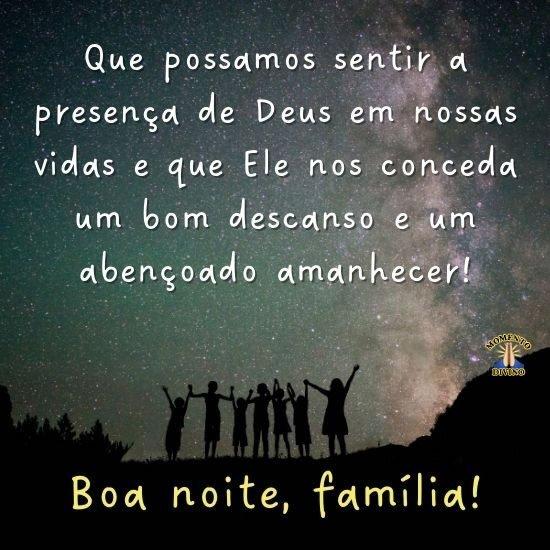 Boa Noite, Família