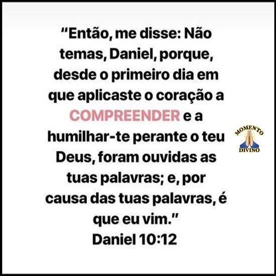 Daniel 10.12