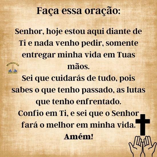Faça essa oração