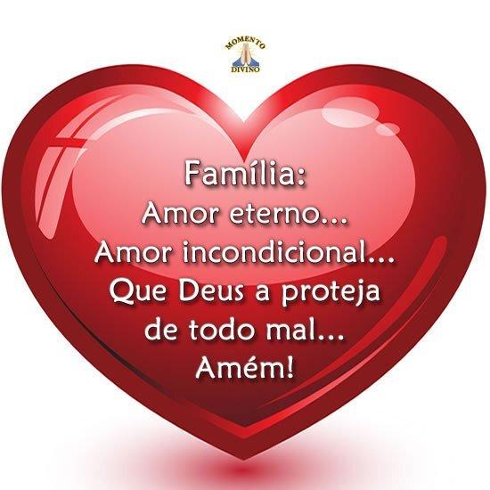 Família, amor eterno