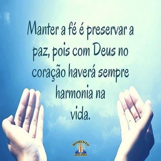 Harmonia na vida