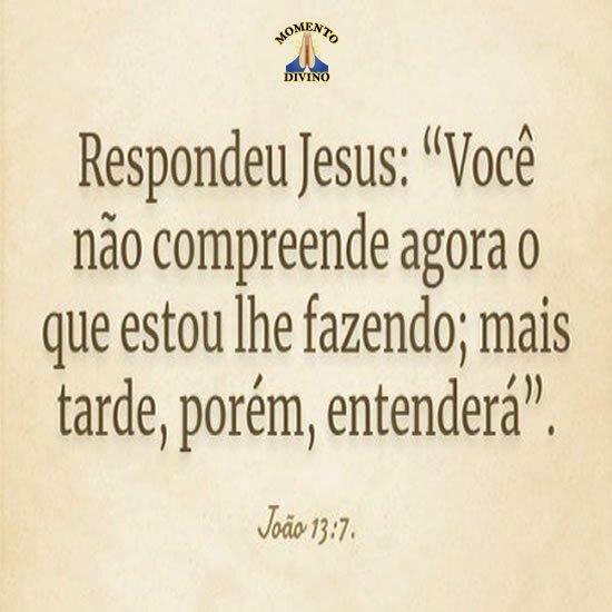 João 13.7
