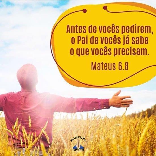 Mateus 6.8