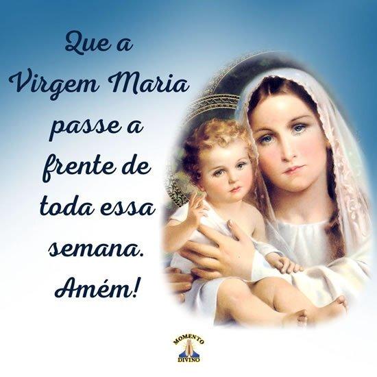 Semana com a Virgem Maria
