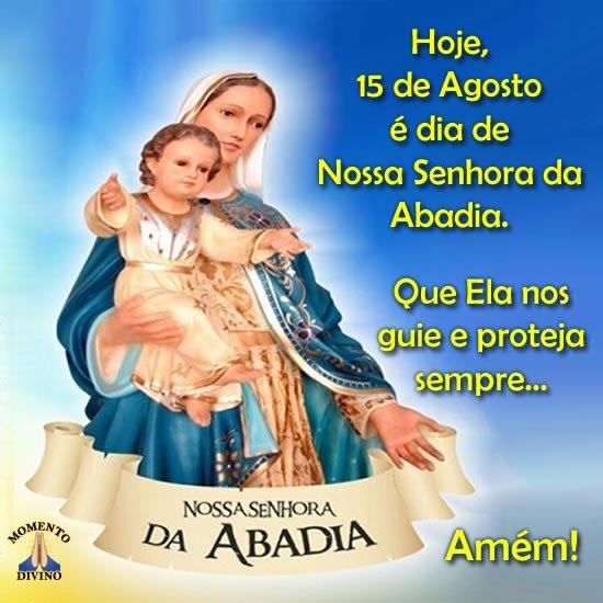 Dia de Nossa Senhora da Abadia