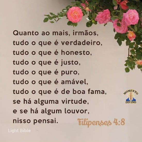 Filipenses 4.8