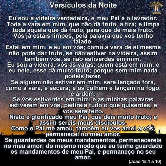 Versículos da Noite
