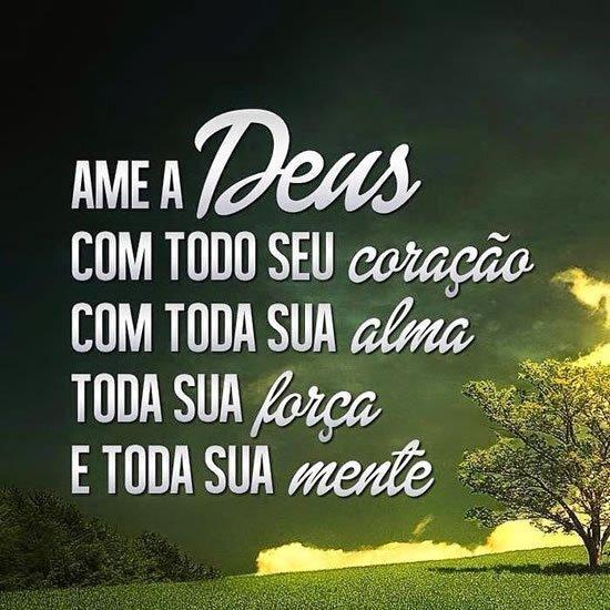 Ame a Deus
