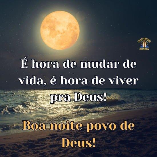 Boa noite povo de Deus