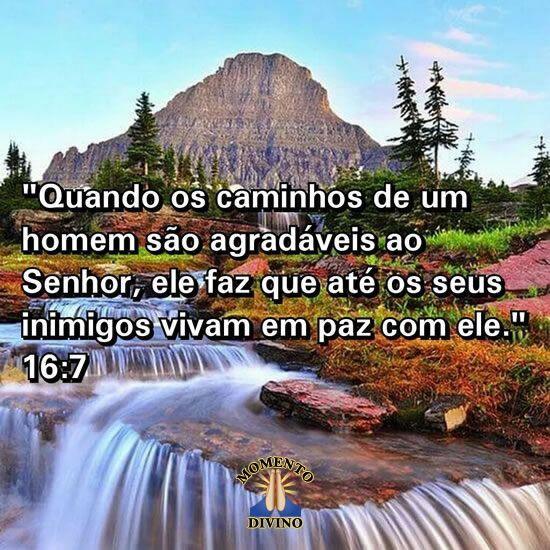 Provérbios 16.7