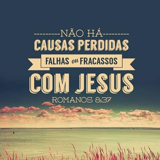 Com Jesus...