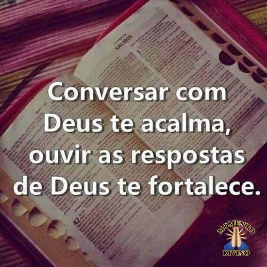 Conversar com Deus