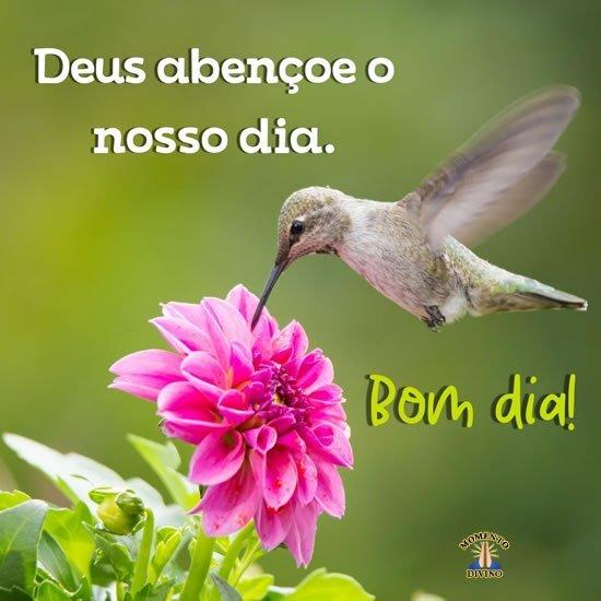 Deus abençoe nosso dia