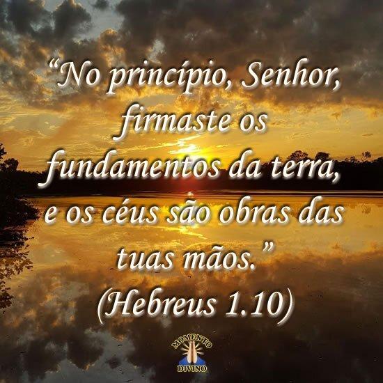 Hebreus 1.10