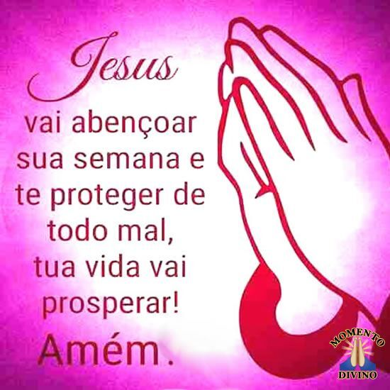 Jesus vai abençoar...