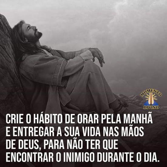 Orar pela manhã