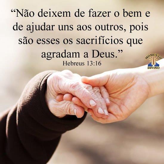 Hebreus 13.16