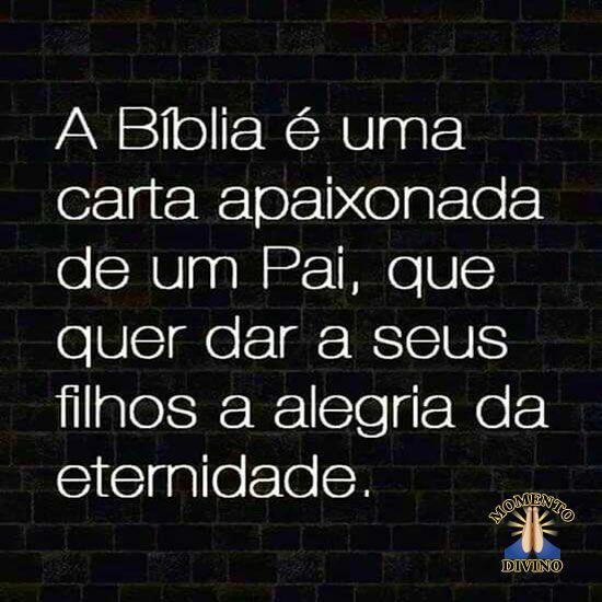 A Bíblia é...