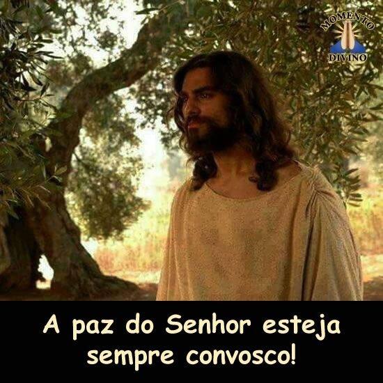 A paz do Senhor