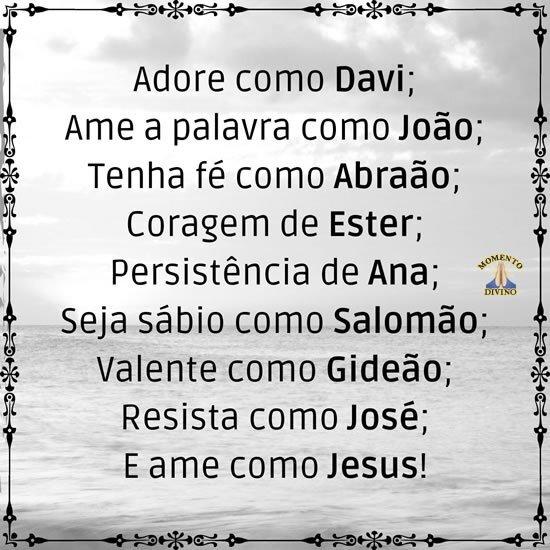 Ame como Jesus!