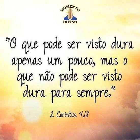 Coríntios 4.18