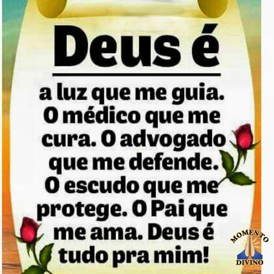 Deus é tudo pra mim!