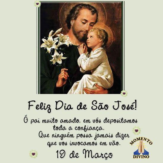 Feliz dia de São José