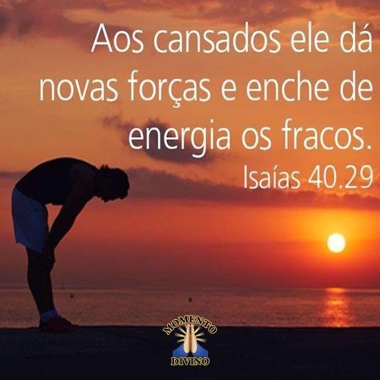 Isaías 40.29