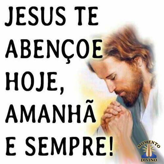 Jesus te abençoe