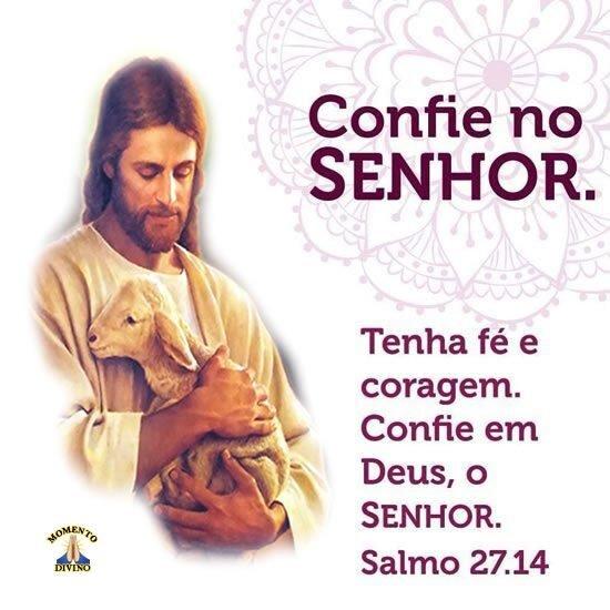 Confie no Senhor