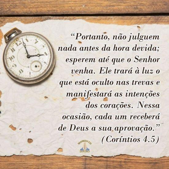 Coríntios 4.5