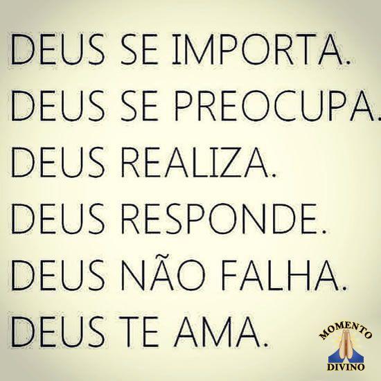 Deus te ama