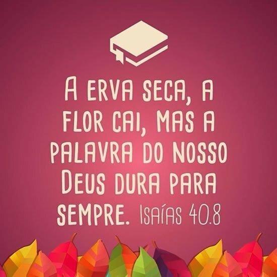 Isaías 40.8