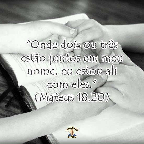 Mateus 18.20