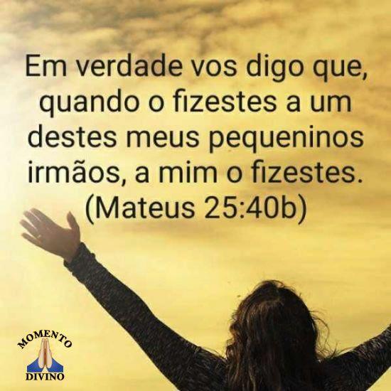 Mateus 25.40