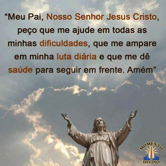 Nosso Senhor me ajude