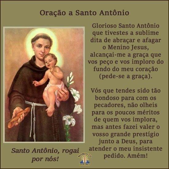 Oração à Santo Antônio