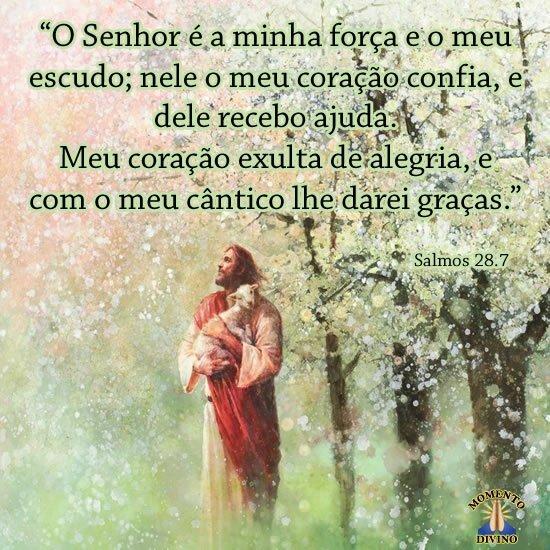 Salmos 28.7