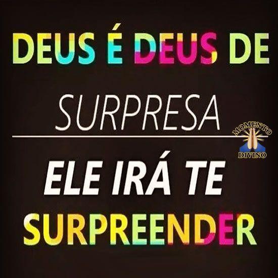 Deus de surpresa