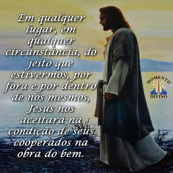 Jesus nos aceitará