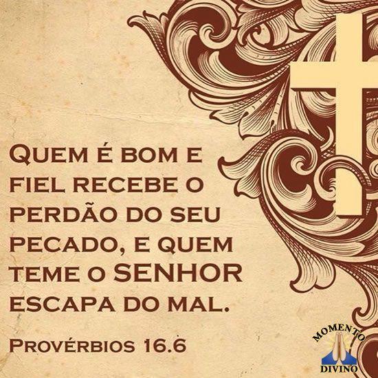 Provérbio 16.6