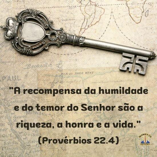 Provérbio 22.4